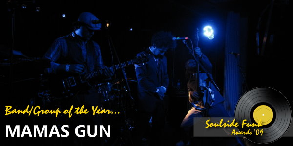 Soulside Funk Awards - Band of the Year Mamas Gun