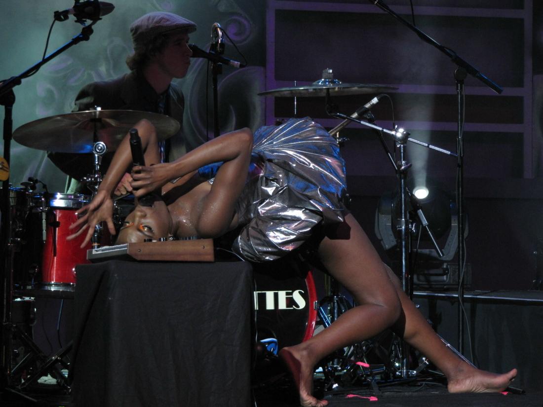 The Noisettes at HMV Forum, London