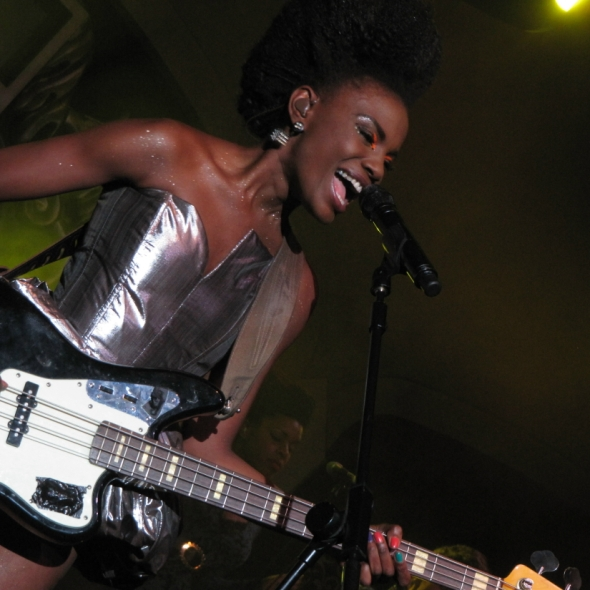 The Noisettes at HMV Forum, London