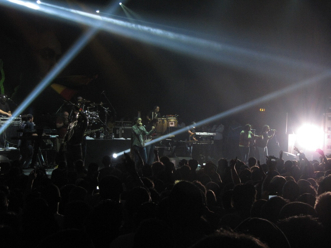 Damian Marley and Nas at London Hammersmith Apollo