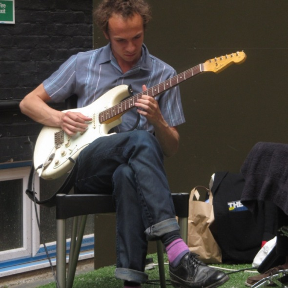 Mystery Jets at RSV Courtyard Sessions