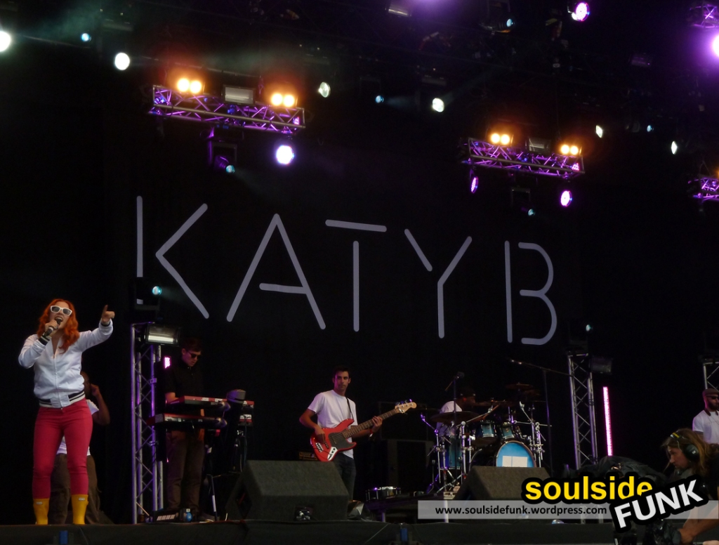 Katy B at Lovebox