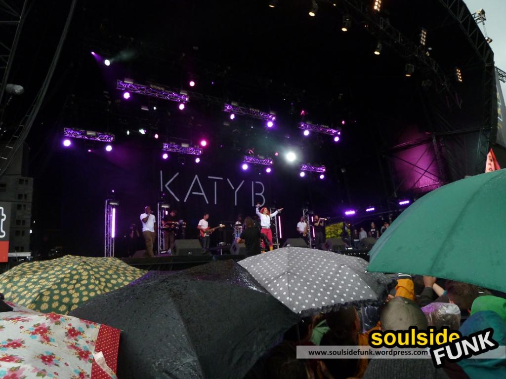 Katy B at Lovebox