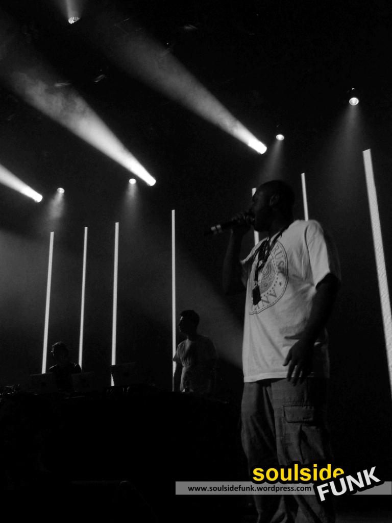 Magnetic Man at iTunes Festival, London - P Money