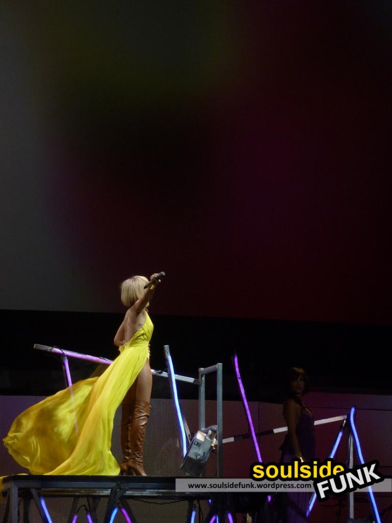 Rihanna at The O2