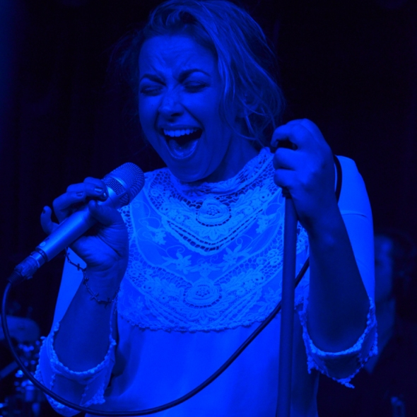 Charlotte Church at Monto Water Rats, London