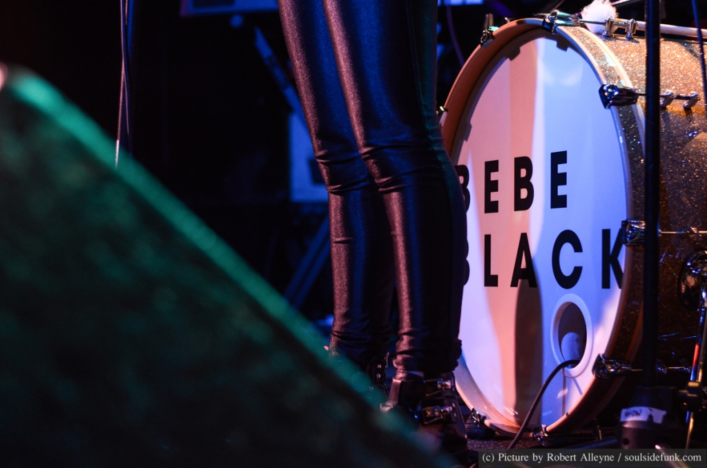 Bebe Black at Gold Dust, London