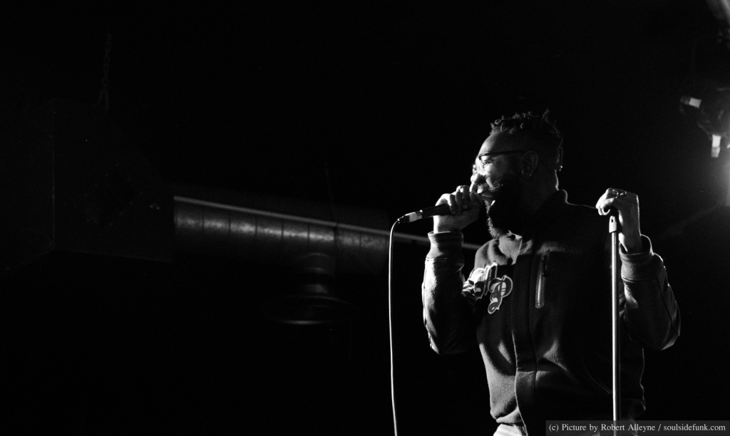 22nd MAY 2013 - Mikill Pane performs at Hoxton Bar & Kitchen on his birthday