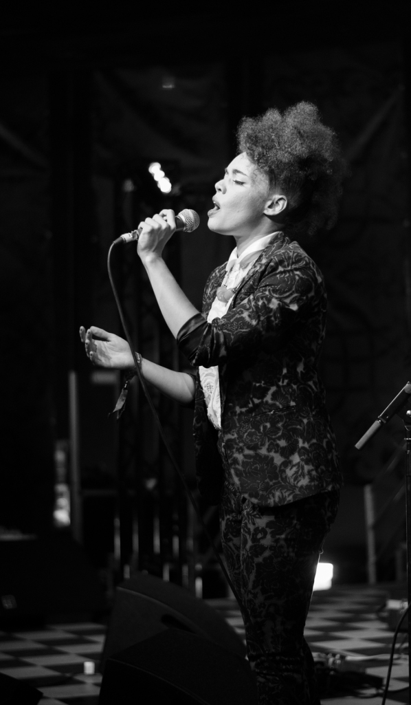 Andreya Triana performs at Lovebox 2013
