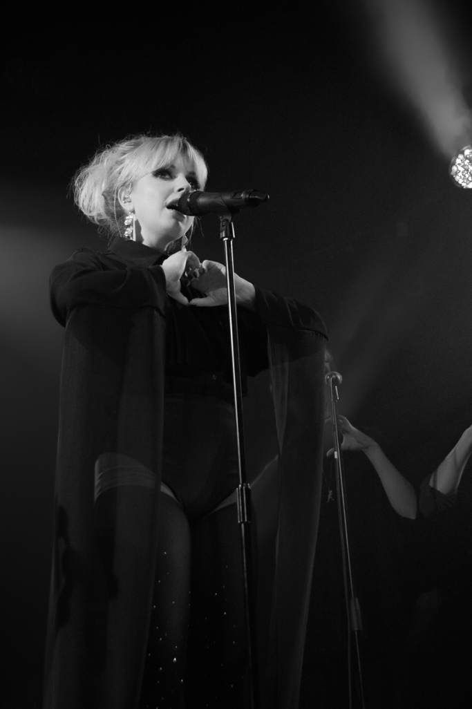 Little Boots singing at Heaven, London