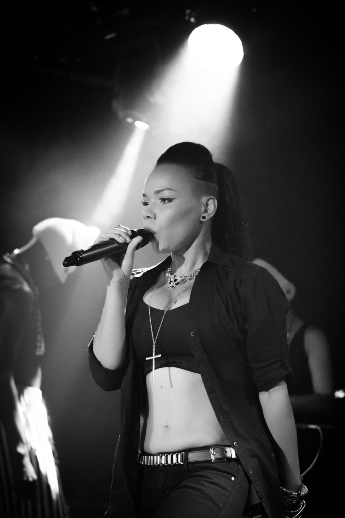 Phreeda Sharp performs at Barfly, Camden