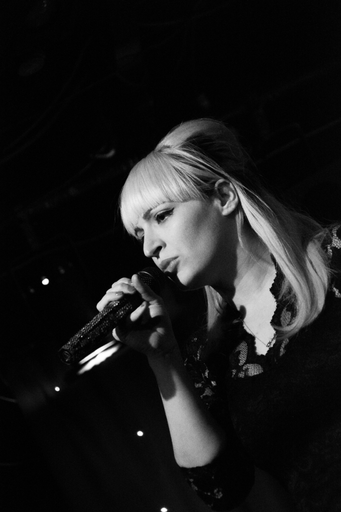 Chantal Claret performs at Madame Jojos, London