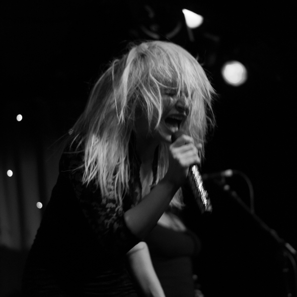 Chantal Claret performs at Madame Jojos, London