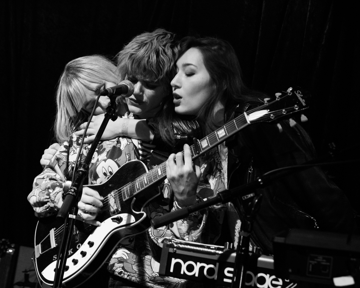Soko performs at Rickshaw Stop in San Francisco