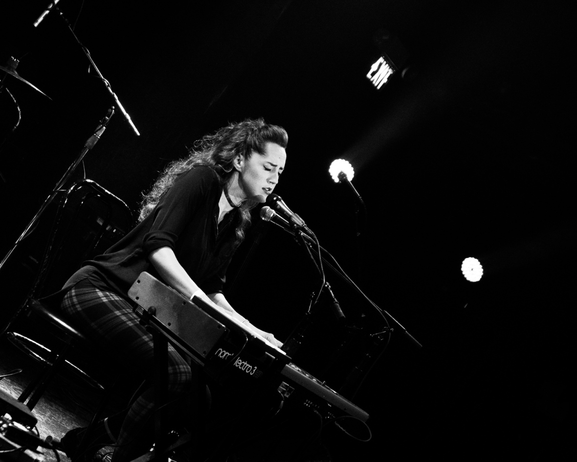 Tess Henley performs at Great American Music Hall, San Francisco on 04/19/2015