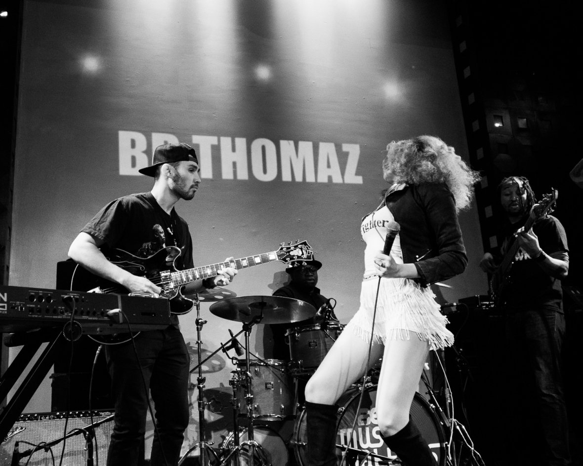 BB Thomaz performs in New York at SOBs - April 2015
