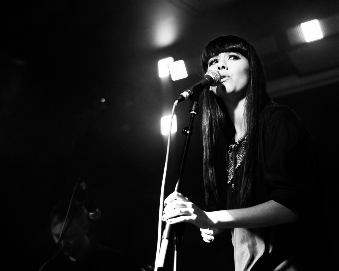 Charlotte OC performs at Gold Dust, Hoxton Square Bar, London