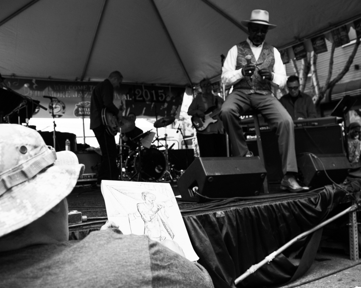 Fillmore Jazz Fest 2015, San Francisco - Frank Bay