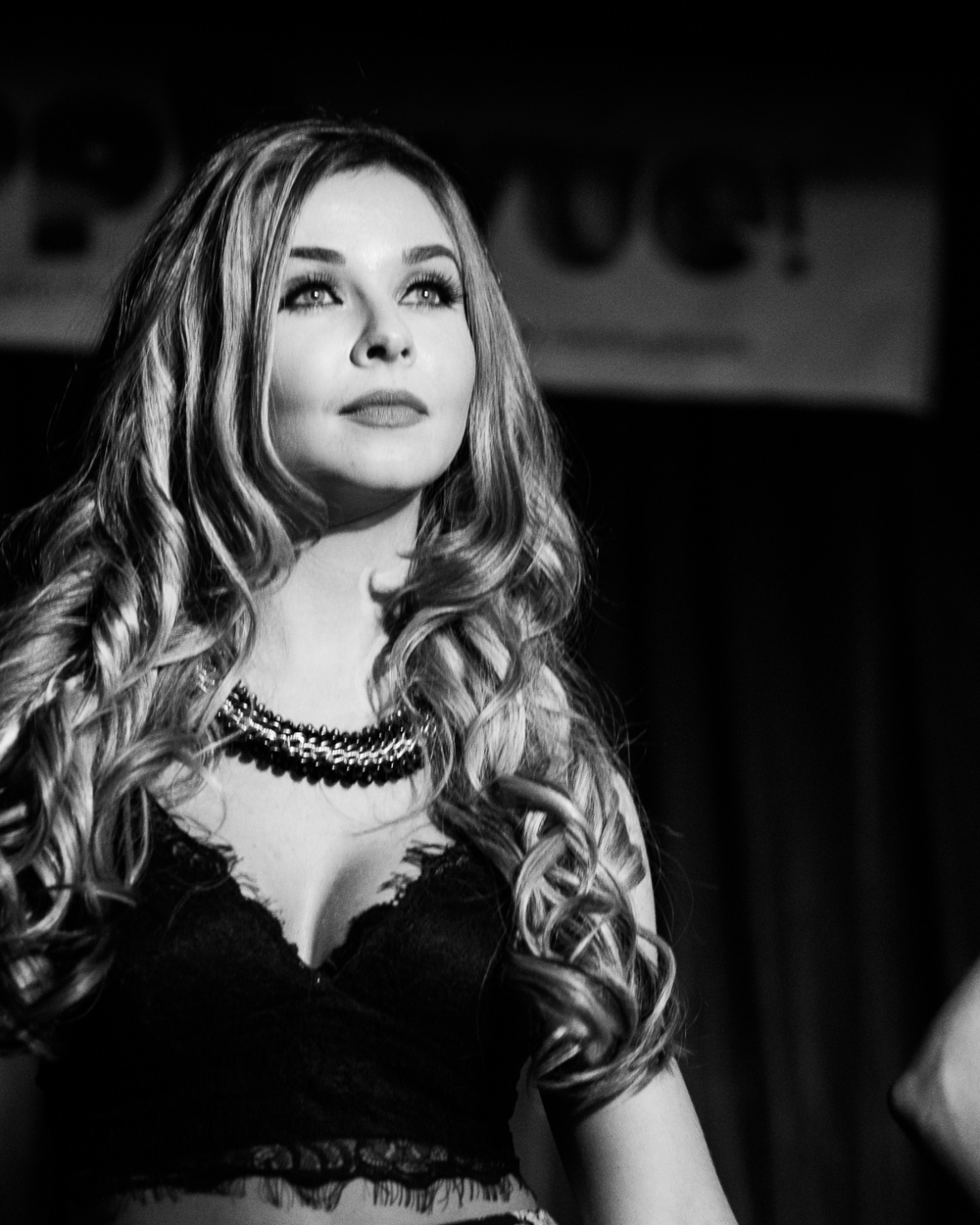 Jenny Dobson of Red Prism performs at Pop Revue