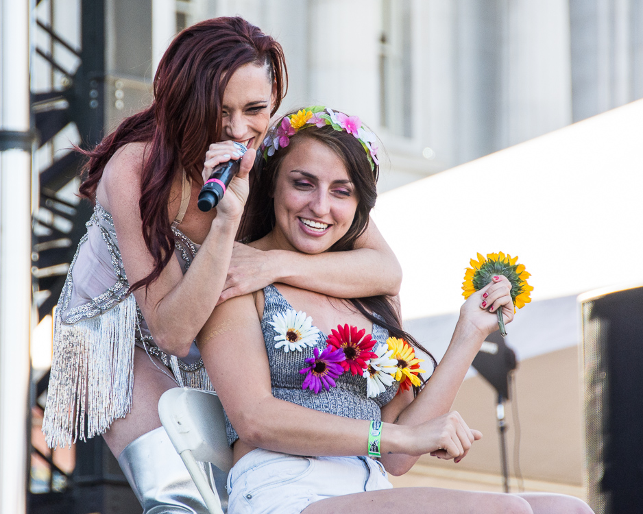 Jessica Sutta at SF Pride, by Robert Alleyne-10