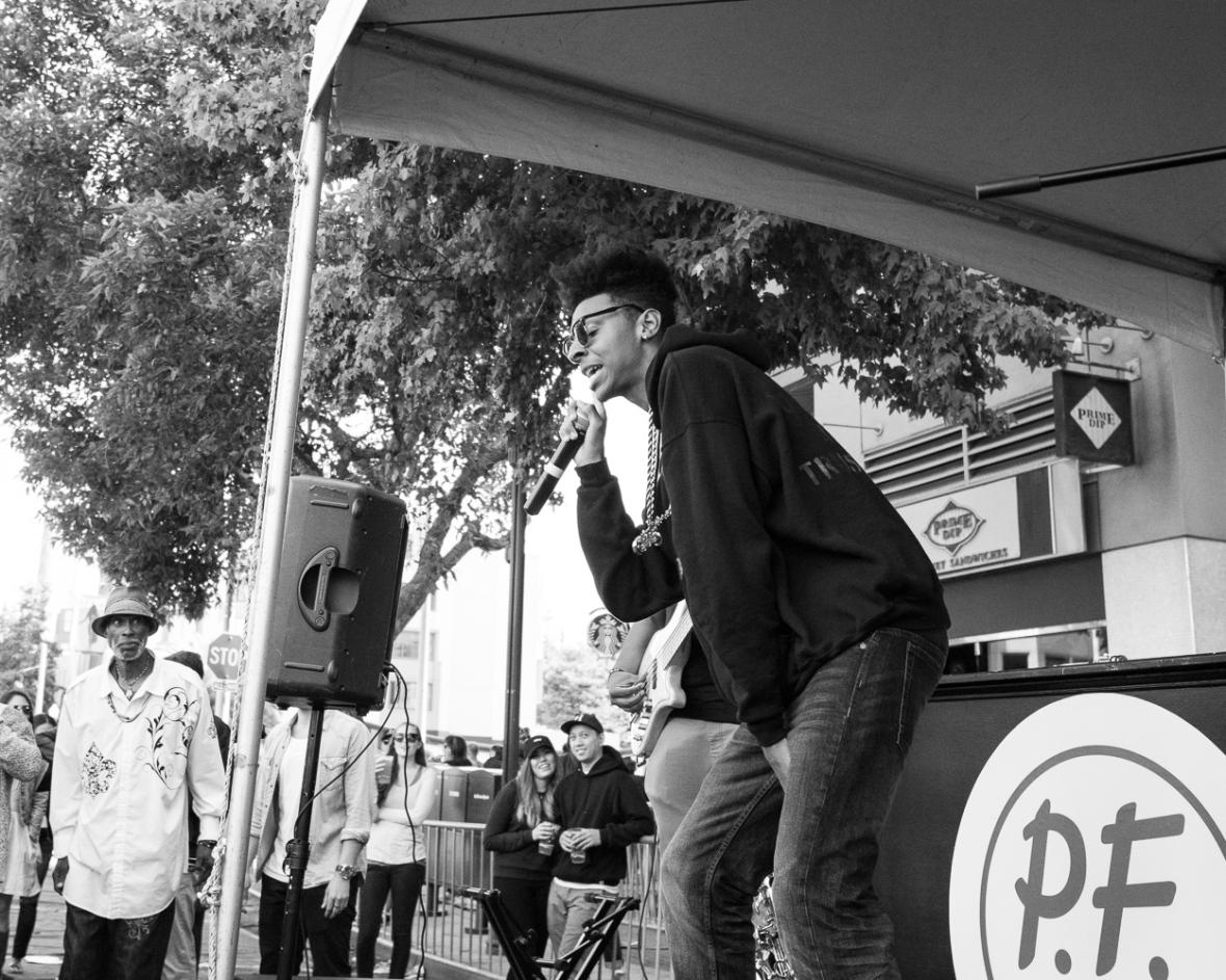 Fillmore Jazz Fest 2016 - Brooklyn Circus Block Party-7