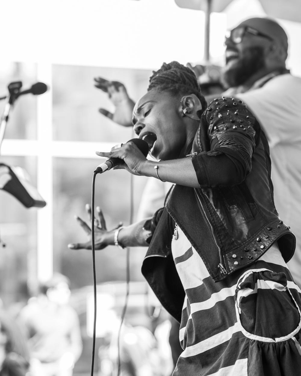 Fillmore Jazz Fest 2016 - Zakiya Harris & Elephantine-2