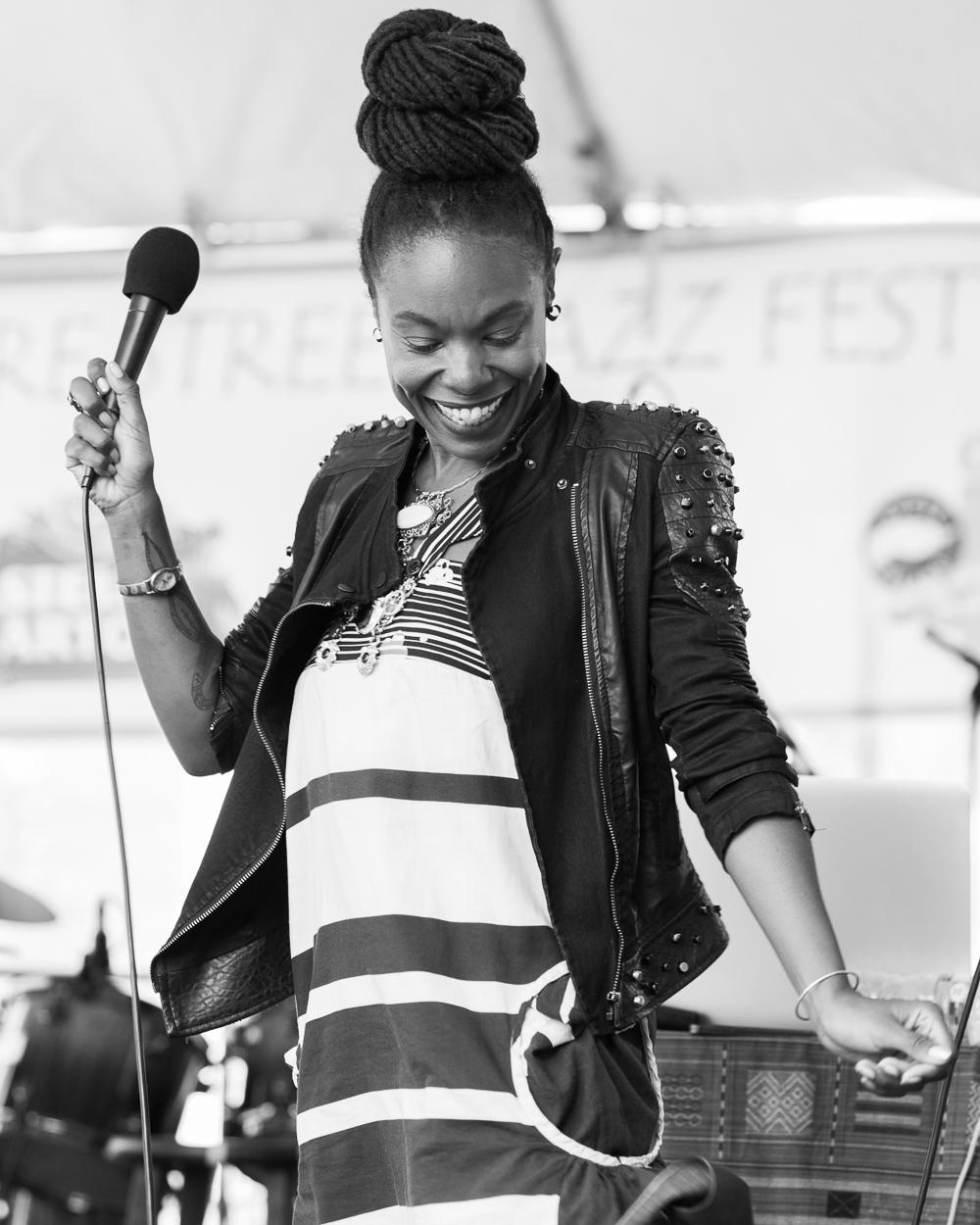 Fillmore Jazz Fest 2016 - Zakiya Harris & Elephantine-5