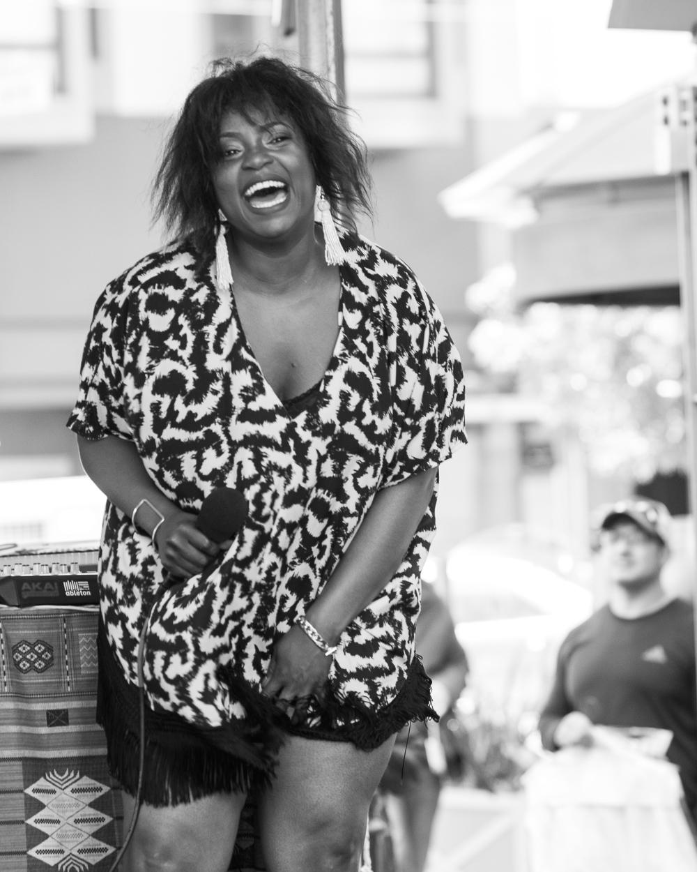Fillmore Jazz Fest 2016 - Zakiya Harris & Elephantine-8