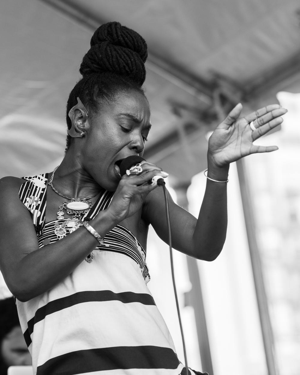 Fillmore Jazz Fest 2016 - Zakiya Harris & Elephantine-9